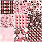 Seamless Patterns Stock Photography