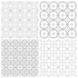 Seamless patterns Royalty Free Stock Image
