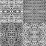 Seamless patterns. Four different seamless patterns- Seamless pattern can be used for wallpaper, pattern fills, web page background,surface textures. Gorgeous royalty free illustration