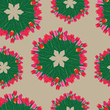 Seamless patterns. Royalty Free Stock Images
