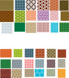 Seamless patterns. Abstract seamless patterns. Vector illustration Stock Photos