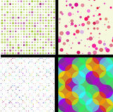 Seamless patterns Royalty Free Stock Photos