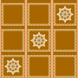 Seamless patterns with abstract painted squares. Seamless patterns with abstract  squares Royalty Free Stock Photos
