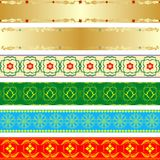 Seamless patterns 2 Royalty Free Stock Image