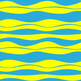 Seamless patterns of abstract waves decoration vector background Royalty Free Stock Image