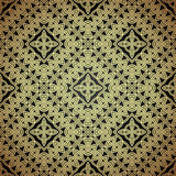 Seamless patterns in arabian style. Royalty Free Stock Photo