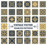 34 Seamless Patterns Background. Collection royalty free illustration