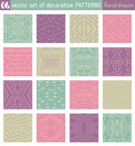 Seamless Patterns backgrounds. Ideal for printing onto fabric Royalty Free Stock Photo