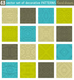 Seamless Patterns backgrounds. Ideal for printing onto fabric Royalty Free Stock Photos