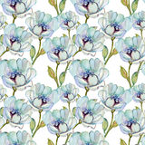 Seamless patterns with Beautiful flowers Royalty Free Stock Image