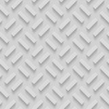 Seamless Patterns With Beveled Shapes. Abstract Grayscale Monochrome Pavetment Background Royalty Free Stock Images
