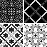 Seamless patterns Royalty Free Stock Photo