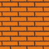 Seamless Patterns of Brick Walls. Vector stock Royalty Free Stock Photos