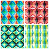 Seamless patterns in a cage Royalty Free Stock Photos