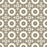 Seamless patterns with circles Royalty Free Stock Photos