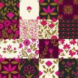 Seamless patterns Stock Image