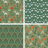 Seamless patterns Stock Photos