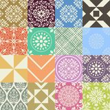 Seamless patterns Stock Photography
