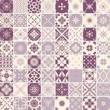 Seamless 64 patterns Stock Photo