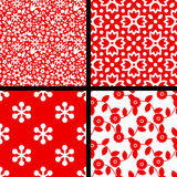 Seamless patterns Royalty Free Stock Photography