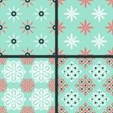 Seamless patterns Royalty Free Stock Photo