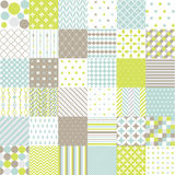 Seamless Patterns - Digital Scrapbook Stock Photos