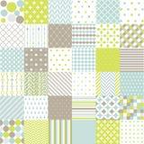 Seamless Patterns - Digital Scrapbook Stock Photos