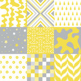 Seamless Patterns - Digital Scrapbook Royalty Free Stock Image