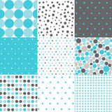 Seamless Patterns - Digital Scrapbook Stock Photography