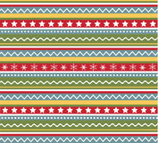 Seamless patterns with fabric, christmas texture Royalty Free Stock Images