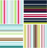 Seamless patterns with fabric texture Royalty Free Stock Photography