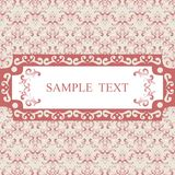 Seamless patterns with fabric texture Royalty Free Stock Image