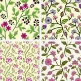 Seamless patterns Stock Photo