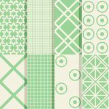 Seamless patterns Royalty Free Stock Image