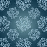 Seamless patterns with lace flowers in Victorian s Royalty Free Stock Images