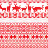 Seamless patterns with the Lapland Royalty Free Stock Images