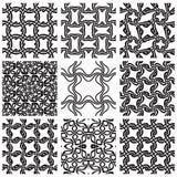 Seamless patterns set. Stock Photography