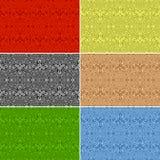 Seamless patterns. Set Stock Image