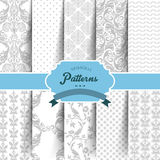Seamless patterns set. Vector illustration (eps 10) of Seamless patterns set Royalty Free Stock Images
