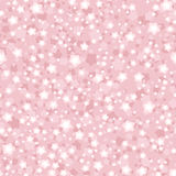 Seamless patterns with small flowers on pink. Royalty Free Stock Photo
