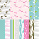 Seamless Patterns With Snake Royalty Free Stock Image