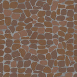 Seamless patterns with stones. Royalty Free Stock Image