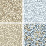 Seamless patterns with stones Stock Image