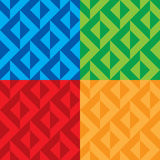 Seamless patterns vector stock image