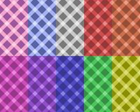 Seamless patterns vector Stock Photo