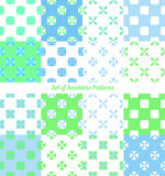Seamless patterns vector illustration Royalty Free Stock Image