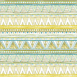 Seamless patterns with white, black, gold, zigzag lines and points, striped, gift boxes and dots. Ethnic seamless green yellow blu. Seamless patterns with white Stock Photos