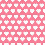 Seamless pattren with hearts Royalty Free Stock Photo