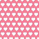 Seamless pattren with hearts Stock Photo