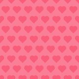 Seamless pattren with hearts Royalty Free Stock Image